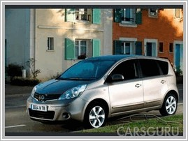 Nissan Note 1.4 MT
